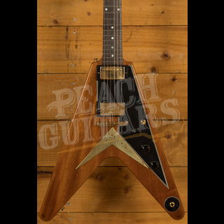 Gibson Custom 59 Mahogany Flying V Sunshine Antique Natural Light Aged GH