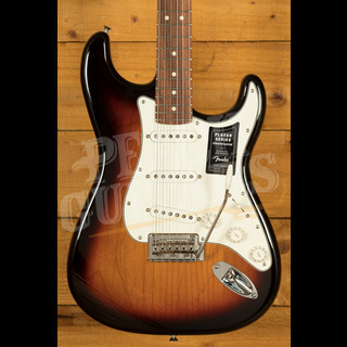 Fender Player Series Strat Pau Ferro 3 Tone Sunburst