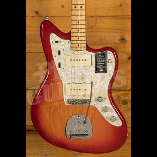 Fender American Ultra Jazzmaster Plasma Red Burst Maple