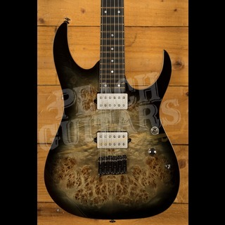 Ibanez RG1121PB-CKB Charcoal Black Burst
