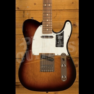 Fender Player Series Tele 3 Tone Sunburst Pau Ferro
