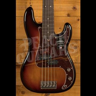Fender American Professional II Precision Bass V 3-Color Sunburst Rosewood