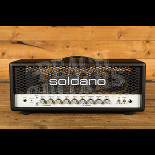 Soldano SLO-100 Classic Super Lead Overdrive - 100w Head Black Tolex