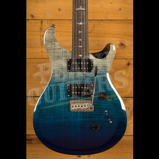 PRS SE Ltd Edition Custom 24 Charcoal Blue Fade