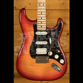 Fender Player Series Strat HSS Plus Top Maple Aged Cherry Burst