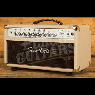 Two-Rock Classic Reverb Signature 100 Watt Head Silver Panel & Knobs