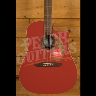 Fender Ltd Edition Redondo Player Fiesta Red