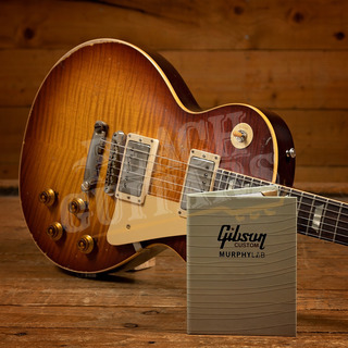 Gibson Custom Murphy Lab HP Top 59 Les Paul Slow Iced Tea Fade Heavy Aged Murphy Painted