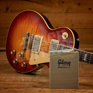Gibson Custom Murphy Lab HP Top 60 Les Paul V2 Neck Wide Tomato Burst Ultra Light Aged