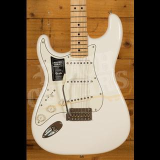 Fender Player Series Strat Left Handed Maple Neck Polar White *B Stock*