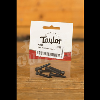 Taylor Black Plastic Bridge Pins Set of 6