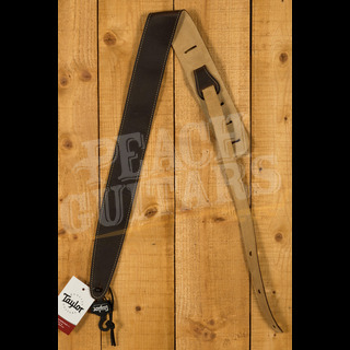 """Taylor Strap, Chocolate Brown Leather, Suede Back, 2.5"""""""