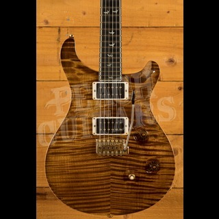 PRS Wood Library Custom 24 Fat Back Black Gold Used