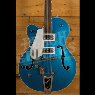 Gretsch G5420TLH Electromatic Hollowbody Left Handed Fairlane Blue Ex Video