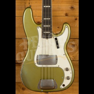 Fender Custom Shop '70s P-Bass Relic Aged Ice Blue Metallic Masterbuilt Vincent Van Trigt