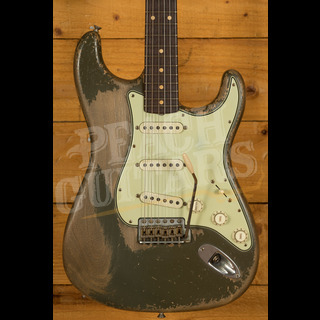 Fender Custom Shop Dale Wilson 61 Strat Ultra Relic Olive Drab Used