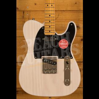 Squier Classic Vibe 50s Tele Maple Neck White Blonde