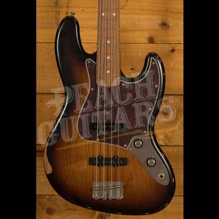 Fender 60th Anniversary Road Worn Jazz Bass 3 Tone Sunburst Pau Ferro