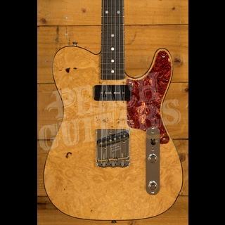 Fender Custom Shop 2020 Artisan Tele Burled Maple Aged Natural