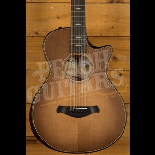Taylor Builder's Edition 652ce Western Honey Burst