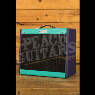 Fender Blues Junior Two-Tone Seafoam Green and Purple
