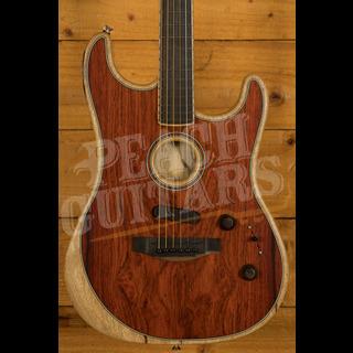 Fender Acoustasonic Stratocaster Exotic Cocobolo