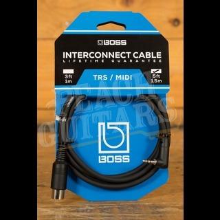 Boss Midi to TRS Cable BMIDI-5-35