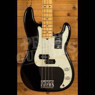Fender American Professional II Precision Bass Black Maple