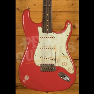 Fender Custom Shop '60 Strat Relic Rosewood Fiesta Red