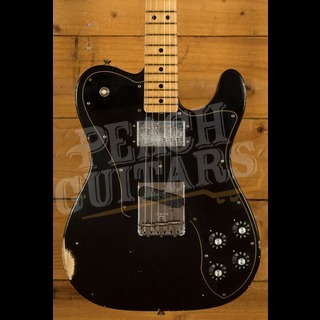 Fender Custom Shop 2020 Tele Custom Relic Aged Black