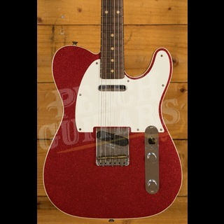 Fender Custom Shop '60 Tele Custom Journeyman Red Sparkle