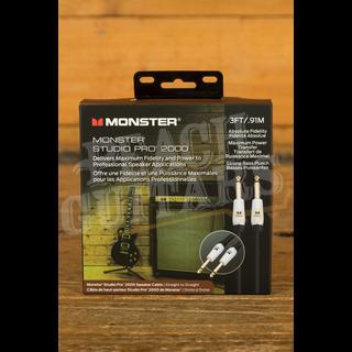 Monster Prolink Studio Pro 2000 Speaker Cables