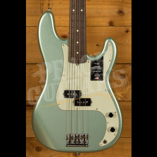 Fender American Professional II Precision Bass Mystic Surf Green Rosewood