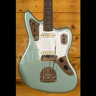 Fender Custom Shop 1964 Jaguar Aged Firemist Silver