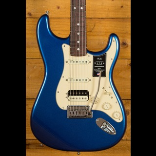 Fender American Ultra Stratocaster Cobra Blue Rosewood HSS