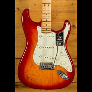 Fender American Ultra Stratocaster Plasma Red Burst Maple