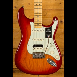 Fender American Ultra Stratocaster Plasma Red Burst Maple HSS