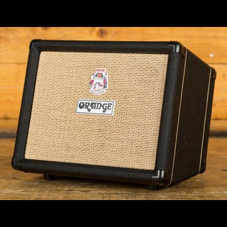 "Orange Crush Acoustic 30: Twin Channel 30w 1 x 10"" Acoustic Combo, Black"