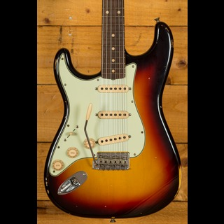 Fender Custom Shop '60 Strat Relic 3-Tone Sunburst LH