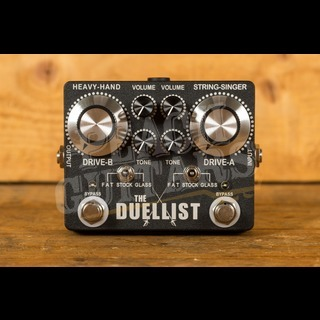King Tone Guitar - The Duellist - Dual Overdrive pedal