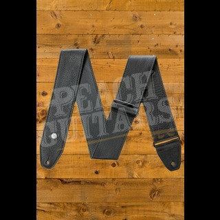 Dunlop Strap - BMF 2.5 inch Tri-Glide Black Leather