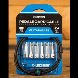 Boss Pedalboard Cable Kit 6ft 6 Connectors