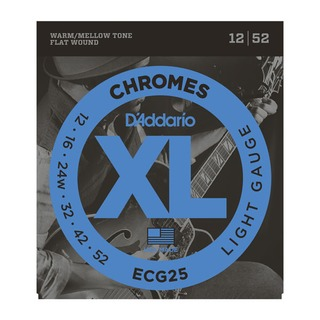 D'addario - 12-52 XL Chromes Light