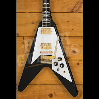 Gibson Custom Jimi Hendrix 69 Flying V Ebony Aged GH