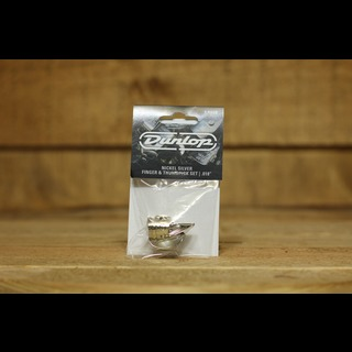 Dunlop Picks - Nickel Silver Finger and Thumb picks - Players Pack