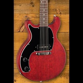 Gibson Les Paul Junior Tribute DC - Worn Cherry Left Handed