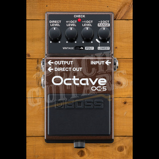 BOSS OC-5 Polyphonic Octave Pedal