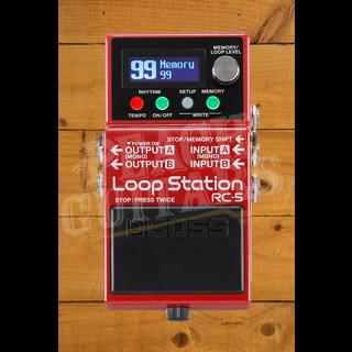 Boss RC-5 Loop Station Advanced Compact Looper