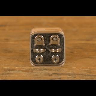 Schaller Guitar S-Lock Pair Nickel Plate