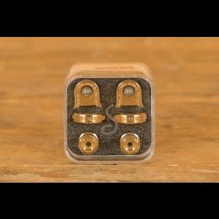 Schaller Guitar S-Lock Pair Gold